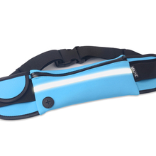 Running Waist Sport Bag Adjustable Waterproof Belt Pack For Mobile Phone Music With Headset Key Small Objects