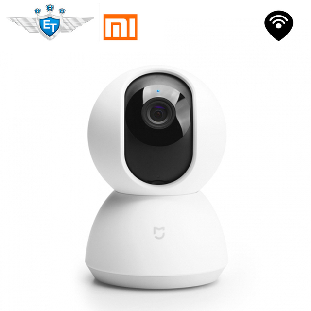 English Version Xiaomi Mijia Smart Camera 1080P WiFi Wireless App Control Cradle Head 360 Angle Vision