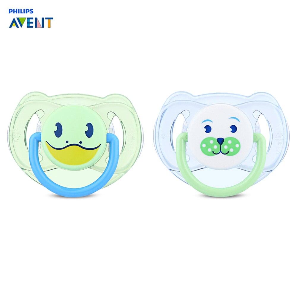 Philips Avent 2 piezas bebé chupete infantil chupete de silicona ...
