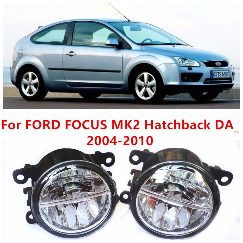 For FORD FOCUS MK2 Hatchback DA_  2004-2010  10W Fog Light LED DRL Daytime Running Lights Car Styling lamps martyrs faith hope and love and their mother sophia 3d model relief figure stl format religion for cnc in stl file format