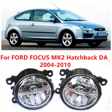 Para FORD FOCUS MK2 Hatchback DA _ 2004-2010 10 W luz de niebla LED DRL Daytime Running Lights coche que labra lámparas