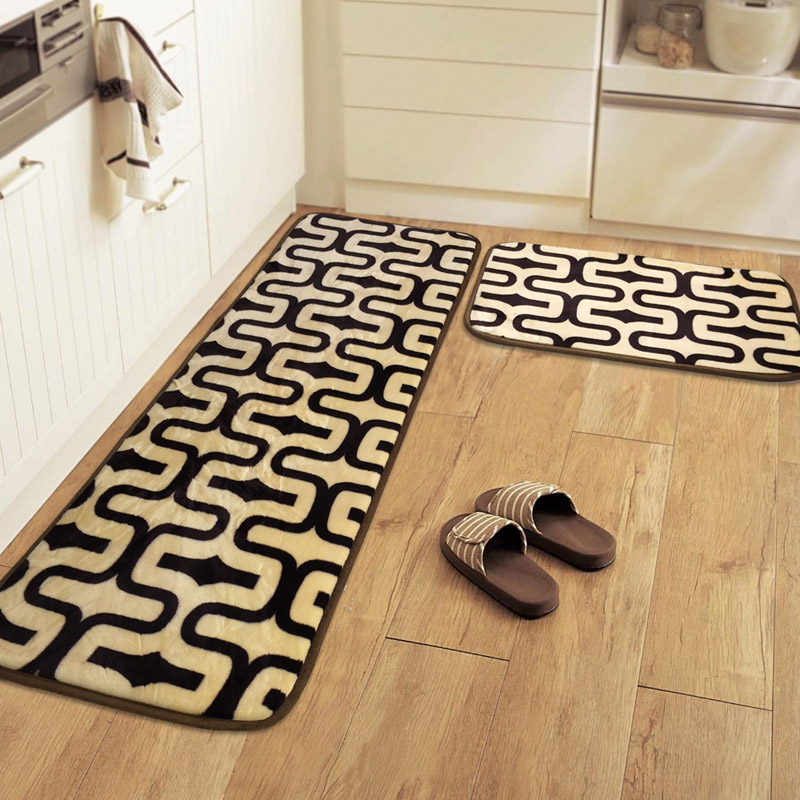 US $8.32 48% OFF|Floor MATS Kitchen Carpet Toilet Tapete Water Absorption  Non slip Rugs Porch Doormat Anti Slip Tapete Rug kids living room-in Mat ...