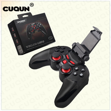 Multifunction Remote Bluetooth Wireless Game gamepad Controller Joystick for Android IOS Apple Smart Mobile Phone/Tablet PC