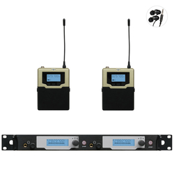 in ear monitor system Professional UHF PLL Wireless In-Ear Monitor 2 Transmitter 2 Receivers Updated SR2050 wireless monitoring