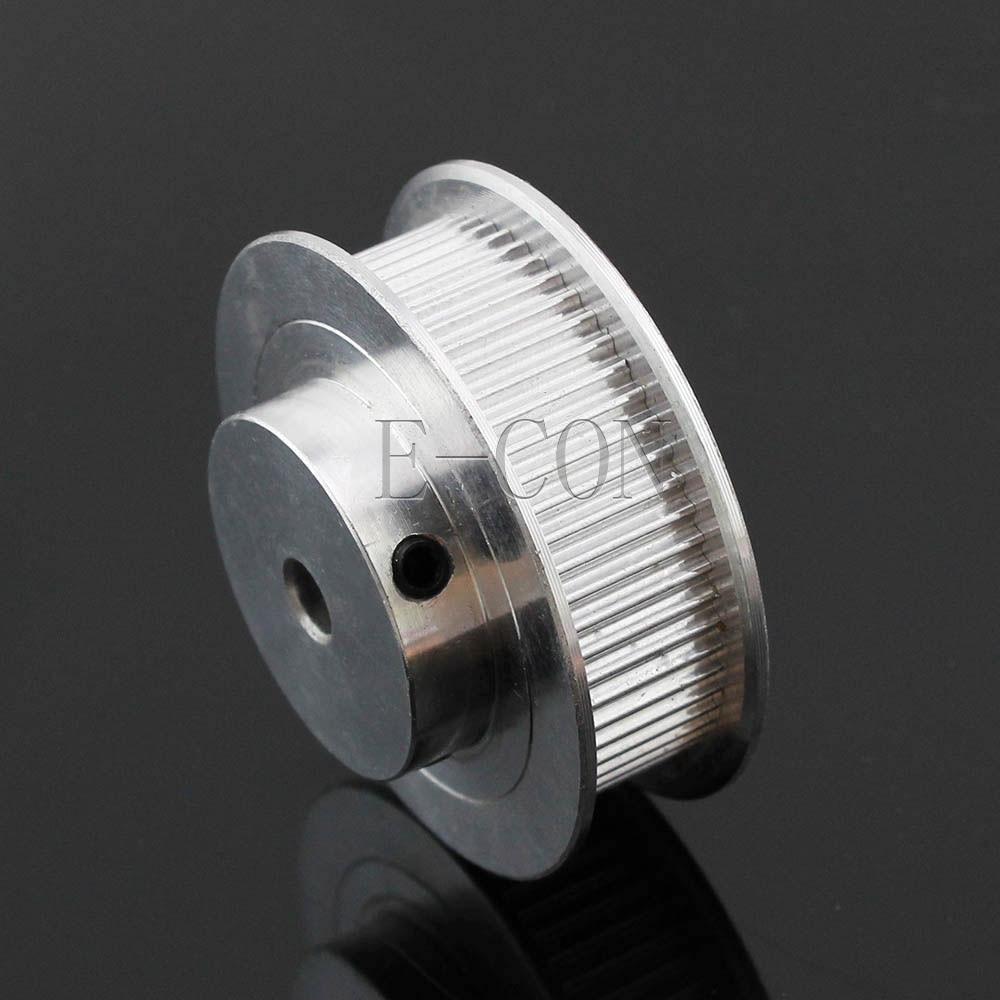 10 pcs/Lot GT2 Poulie Alumium 60 Dents Alésage 5mm/12mm Dents largeur 11mm pour Largeur 10mm GT2 Courroie de distribution et 3D imprimante