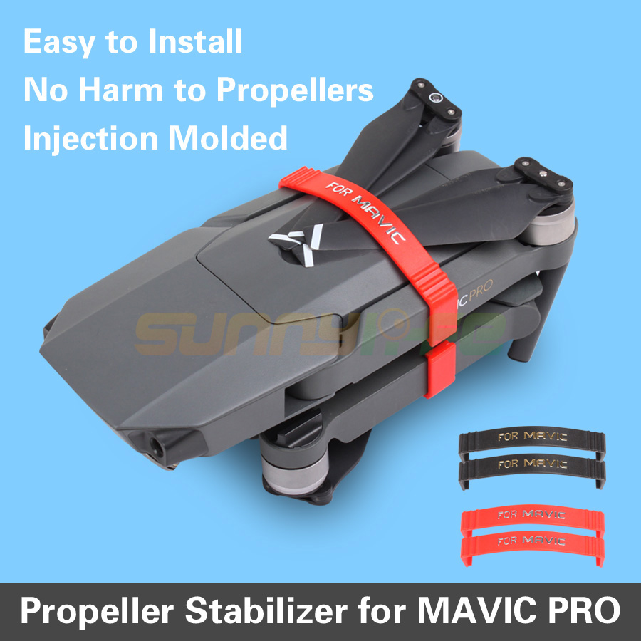 Sunnylife Drone Propeller Stabilizer Fixing Parts Fixators Holder Hook Transport Protection for DJI MAVIC PRO Drone