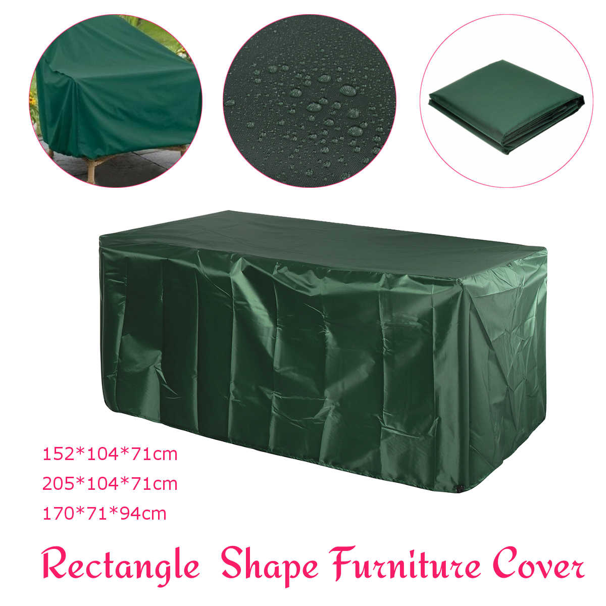 Waterproof Outdoor Garden Patio Furniture Cover Set Table Sofa Bench Wicker Protection Rain Snow