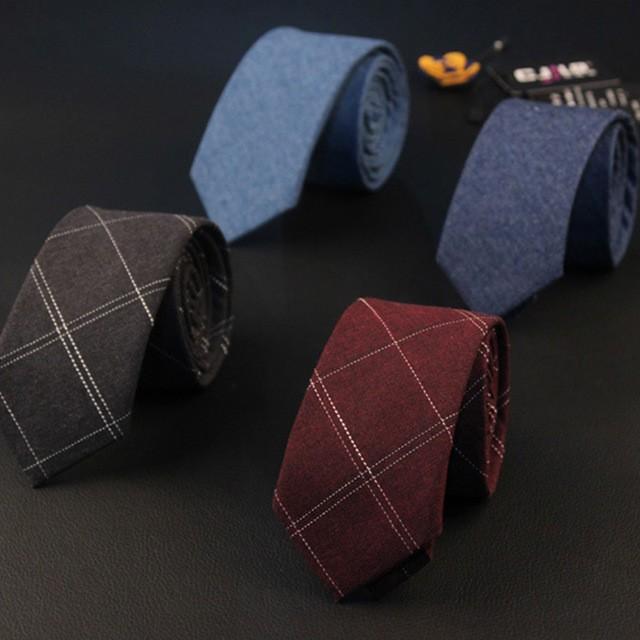 Nouvelle-Arriv%C3%A9e-Plaid-Hommes-de-Cravate-Marque-Populaire-Coton-Cravate-Jacquard-Occasionnel-Maigre-Cravate-De-Mariage.jpg_640x640