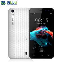 iRULU HOMTOM HT16 Android 6.0 Cellphone 3G WCDMA MTK Quad Core 1G/8G 5 Inch 1280*720 Ultra Slim 3000mAh Smartphone Dual Cameras