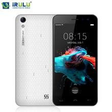 IRulu Doogee HOMTOM HT16 Android 6.0 телефон 3 г WCDMA МТК 4 ядра 1 г/8 г 5 дюймов 1280*720 Ultra Slim 3000 мАч смартфон Две камеры