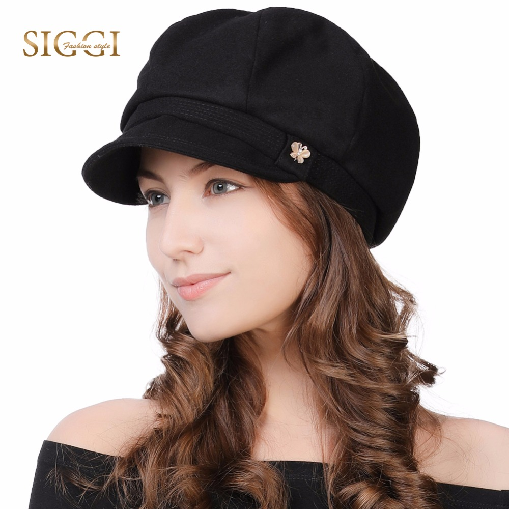 FANCET Womens Newsboy Caps Soft Satin Lined Visor Berets Cabbie Caps Solid  Adjustable Vintage Fashion Soft Stylish Hats 89099|Women's Newsboy Caps| -  AliExpress