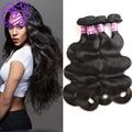 8A Brazilian Virgin Hair Body Wave 4 Bundles Ashimary Brazilian Body Wave 100% Cheap Human Hair Weave Body Wave Brazilian Hair
