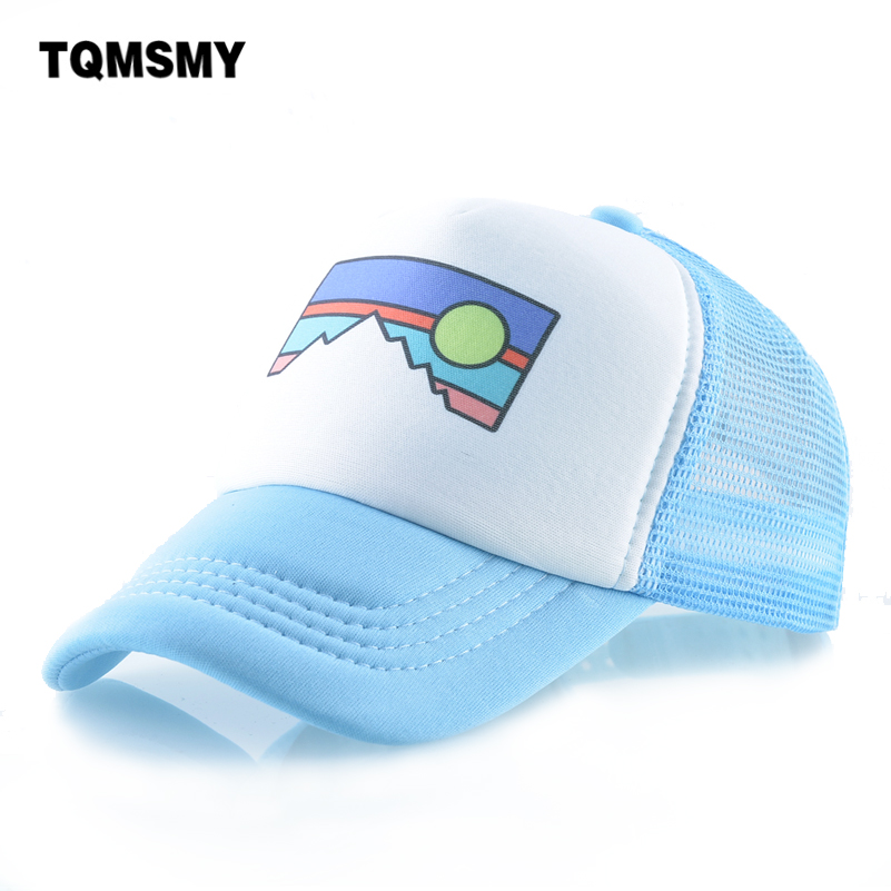 Lovely   baseball     caps   Children Trucker Bone Hip Hop   cap   Fox pattern Snapback girls sun hats for boys Outdoor Visor casquette