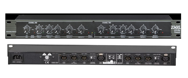 High Quality Stereo 2 3 Way Mono 4 Way Crossover Professional musical instructment crossover 234XL Electronic