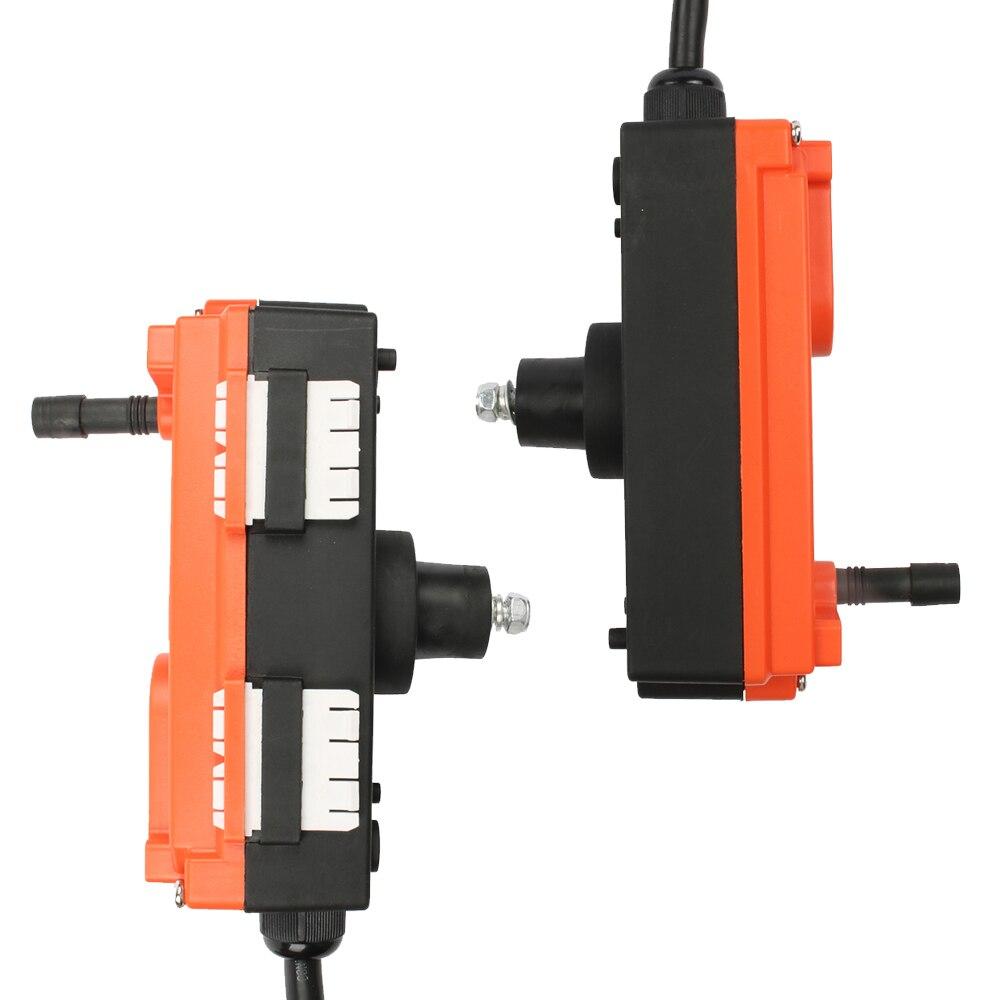DIANQI télécommande industrielle grue de levage bouton poussoir avec 8 boutons 1 récepteur + 1 émetteur pour camion grue de levage - 3