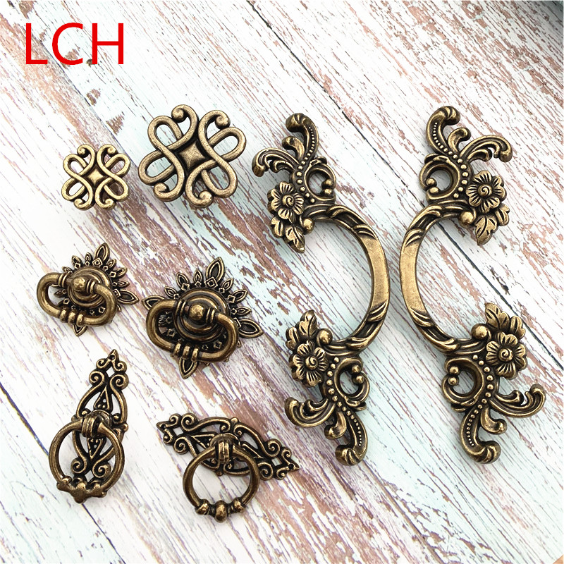 Us 0 43 8 Off Lch Antique European Style Drawer Pulls Door Hardware Furniture Ming Qing Dynasty In Cabinet From Home