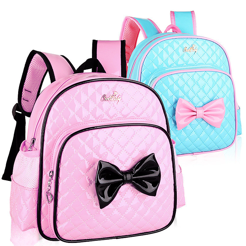 font b Kids b font Princess Girls Kindergarten font b Backpack b font Children Pink