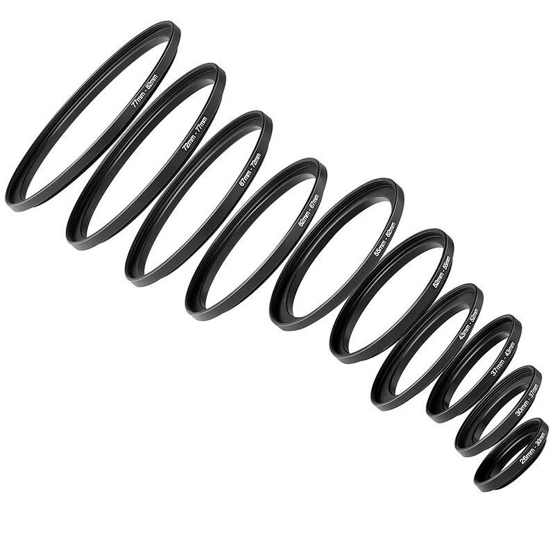 Foleto Lens Filter Adapter Ring Step Up Down Rings 46 59 52 55 58 62