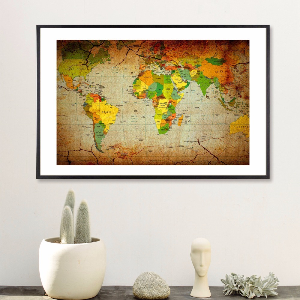 Luxury Decorative Wall Map Pictures - The Wall Art Decorations ...