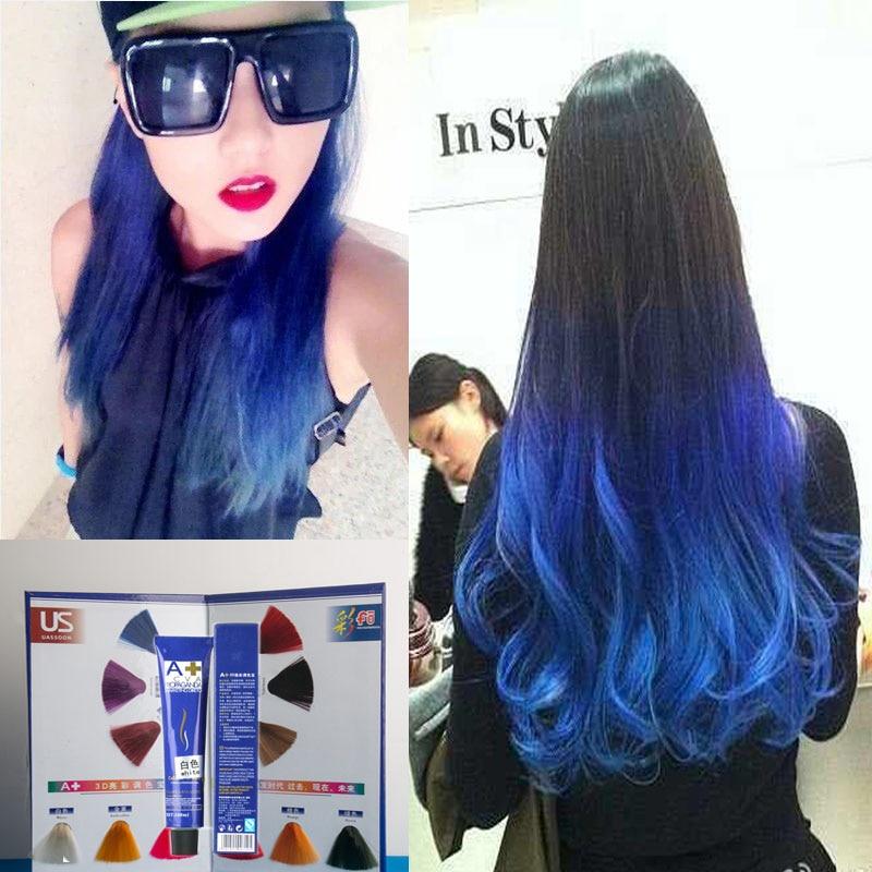 100 мл чистый крем для волос полу постоянный волосы цвета краски для волос красочные с бесплатный подарок (кислорода молоко воды)