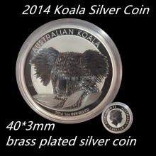 Newest 2014-P Australia Animal 1 Oz .999 Silver Koala Coin Replica like Recognized Perth Mint,dhl free shipping 100pcs/lot