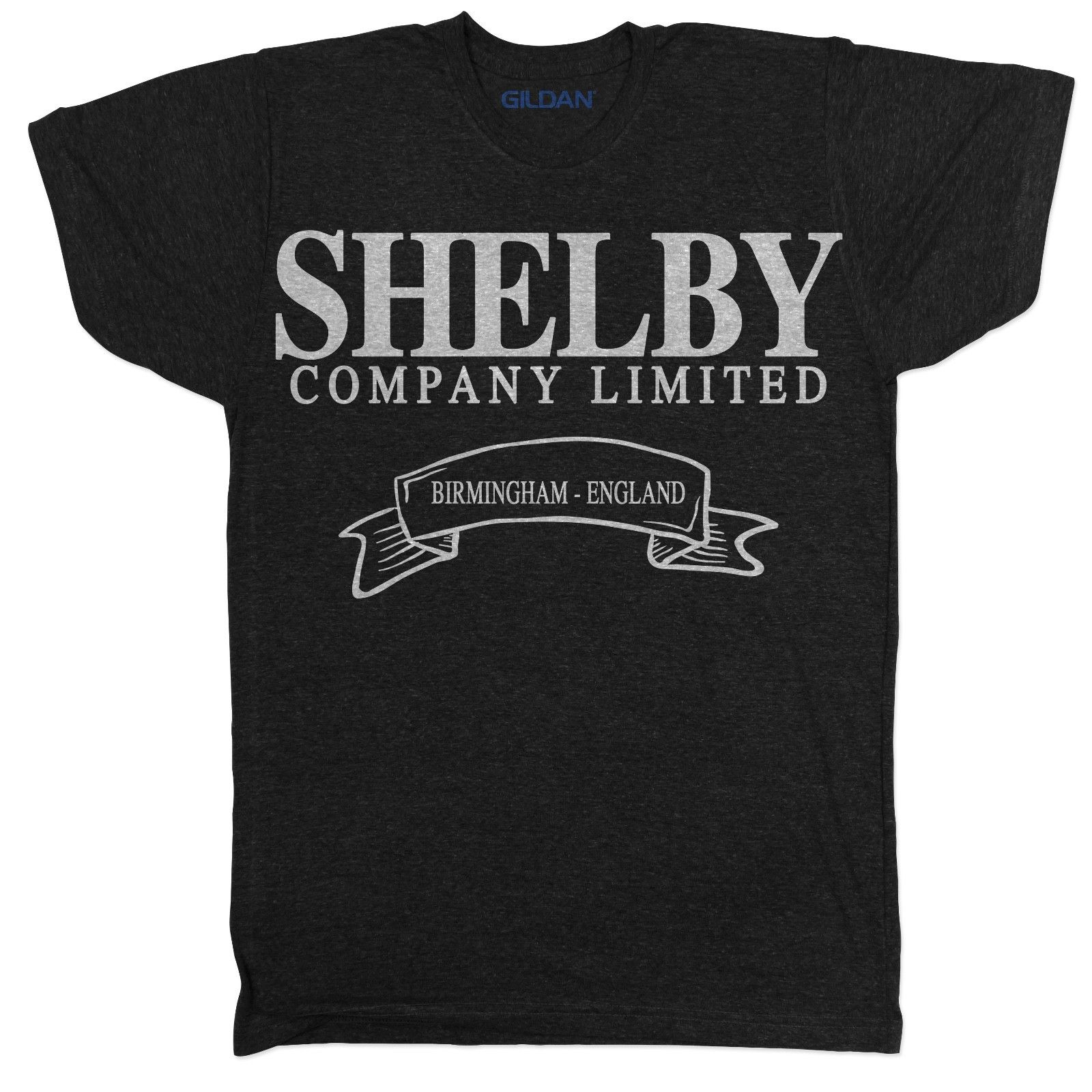 Peaky Blinders Shelby Company Crime Movie Film Garrison Export Tv Series T Shirt Print T Shirt Mens Short Sleeve Hot Black Style