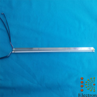 19inch Wide 425mm 7mm CCFL Backlight Lamps With Frame Holder Assembly Double Lamps For LCD Monitor