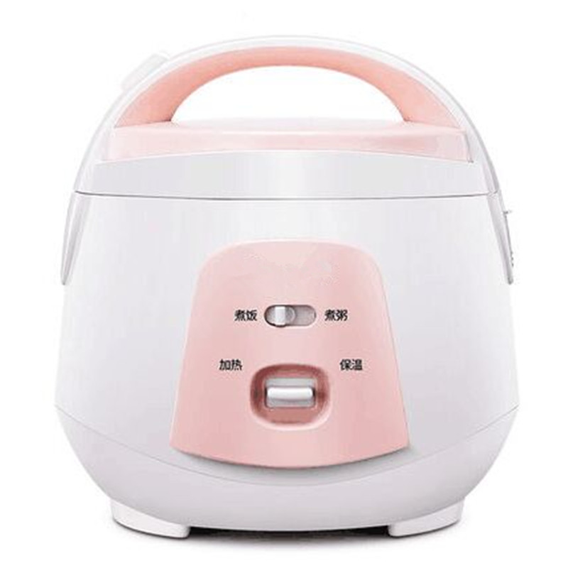 Mini rice cooker 1-2-3-4 small rice cooker cooking pot household single 2L mini one-button operation