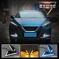 Led Daytime Light With Turn Singal For Nissan Bluebird Z2AF044