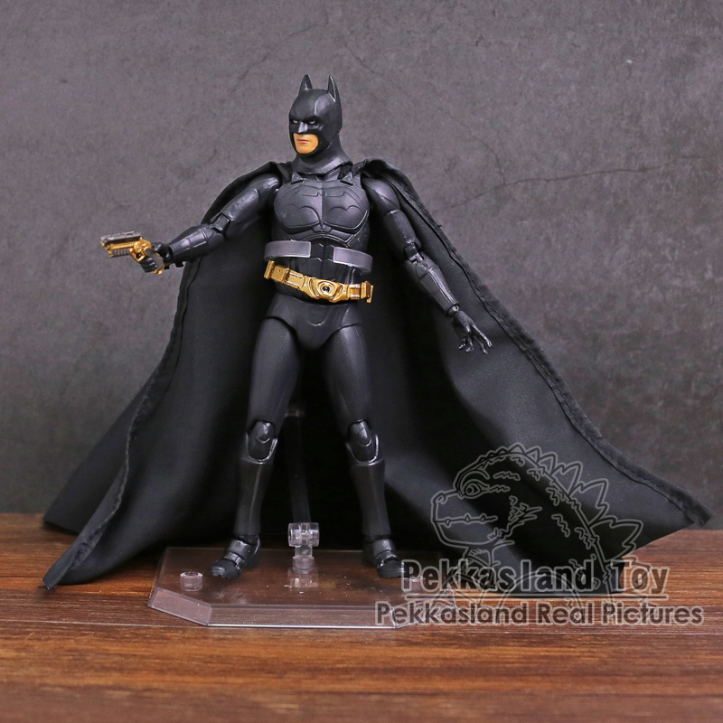 The Dark Night Batman Begins Suit PVC Action Figure Collectible Model Toy 17cm ...