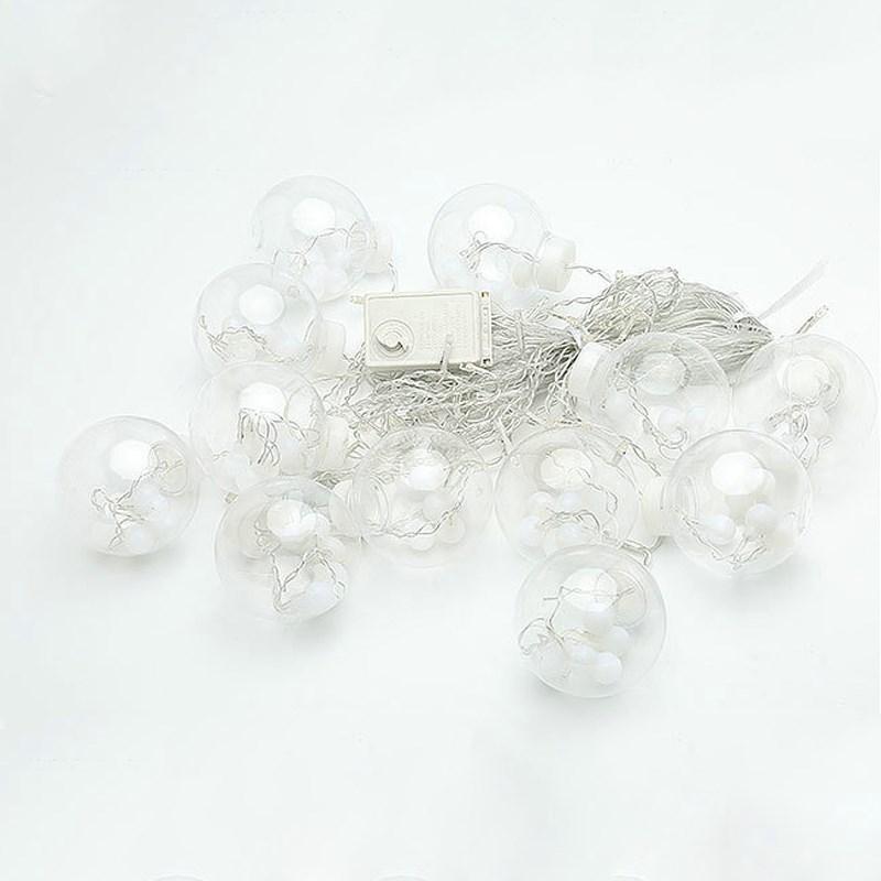 Led cortina icicle bola de hadas cadena deseando luces fiesta fiesta - Iluminación de vacaciones - foto 6