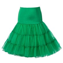 Plus Size Petticoat Knee Length