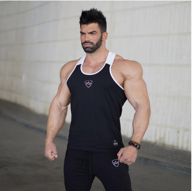 BeLegend 2018 New Fitness Men   Tank     Top   Mens Bodybuilding Stringers   Tank     Tops   Singlet Brand Clothing