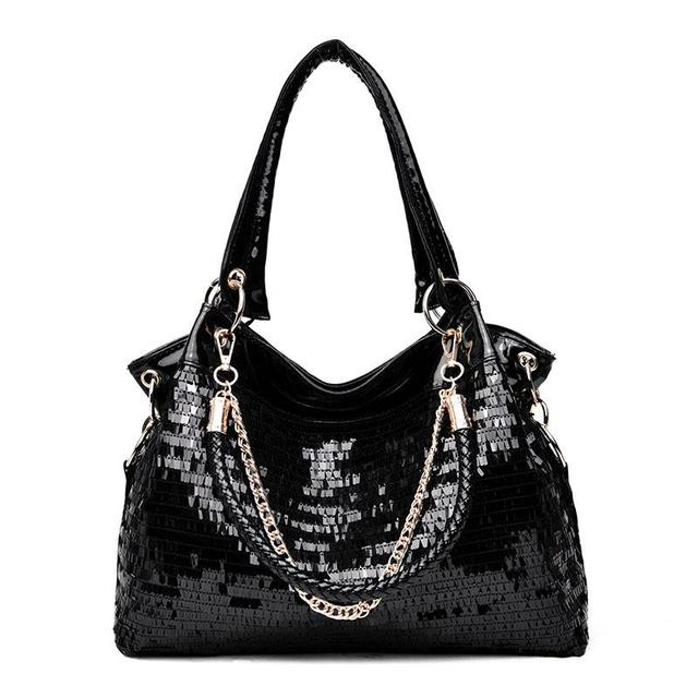 Patent Leather Handbag...