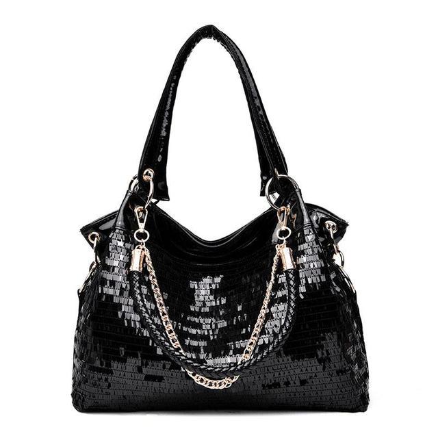 Patent Leather Handbag...