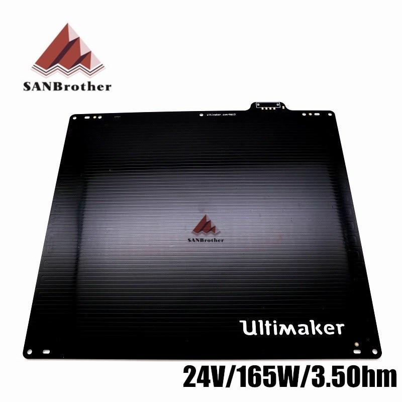 Ultimaker2 UM2+ Heated Bed 24V Aluminum Alloy Plate print table for 3D Printer
