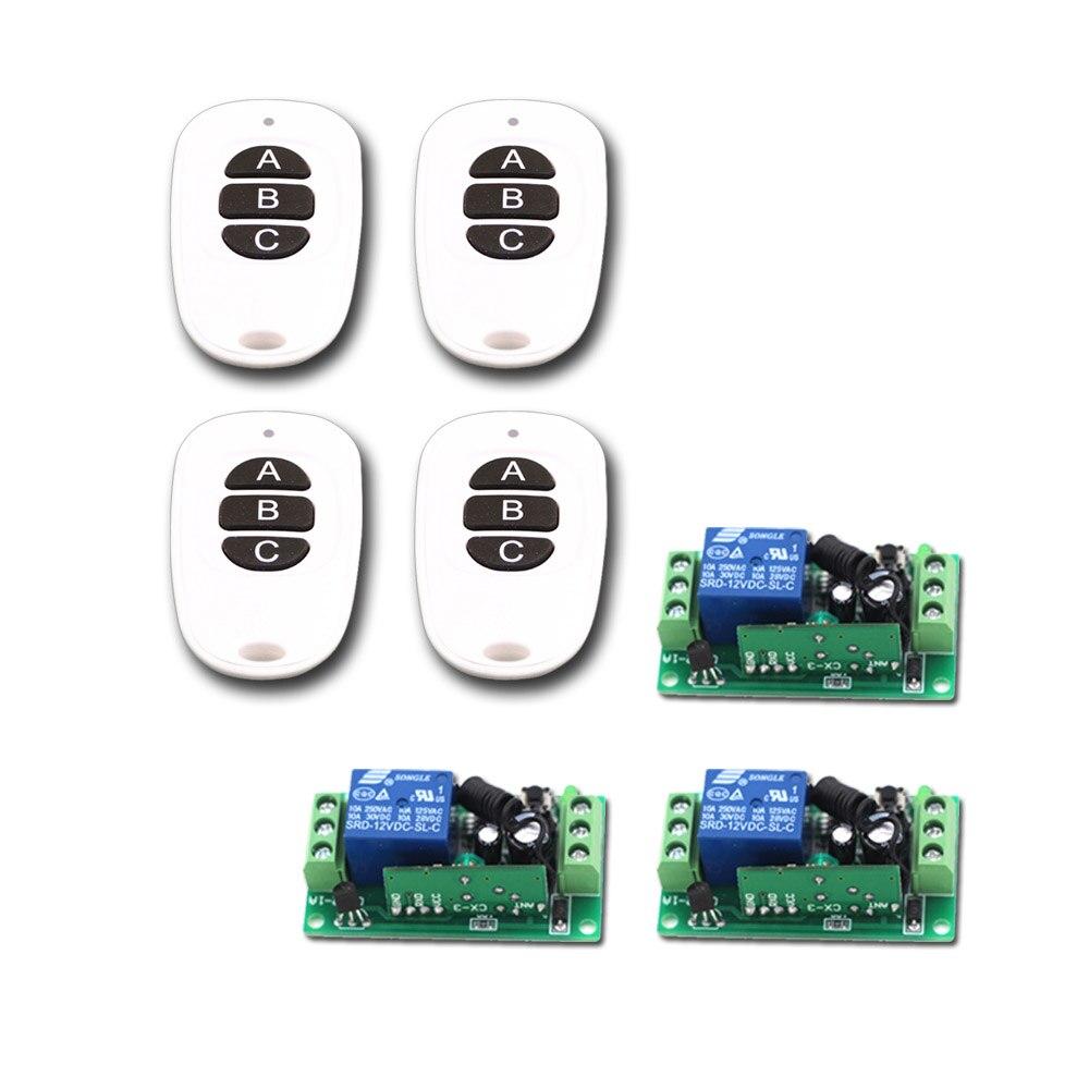 DC9V 12V 24V Wireless Remote Control Switch Systerm Wireless Remote Controller Receiver &Transmitter 315Mhz/433Mhz Free Shipping хай хэт и контроллер для электронной ударной установки roland fd 9 hi hat controller pedal