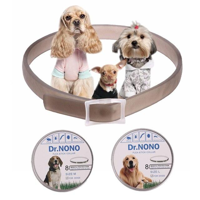 Collare di cane Anti Pulci Respingere Le Zecche Zanzare All'aperto di Protezione