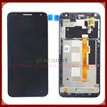Display lcd + touch screen digitador para alcatel one touch idol 2 mini s ot6036 6036 6036y com quadro
