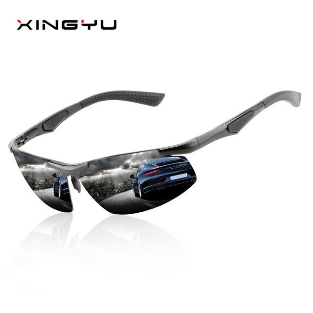 XINGYU 2019 Fashion Polarized Sunglasses Men Original Brand Designer Sun Glasses man women Polaroid Gafas De Sol Vintage Oculos
