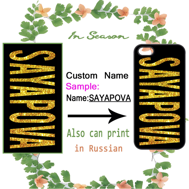 Custom DIY Name Personalized Case for Samsung A3 A5 A7 J1 J5 J7 2016 Prime E5 E7 Core Grand Prime Neo Alpha Note 3 4 5