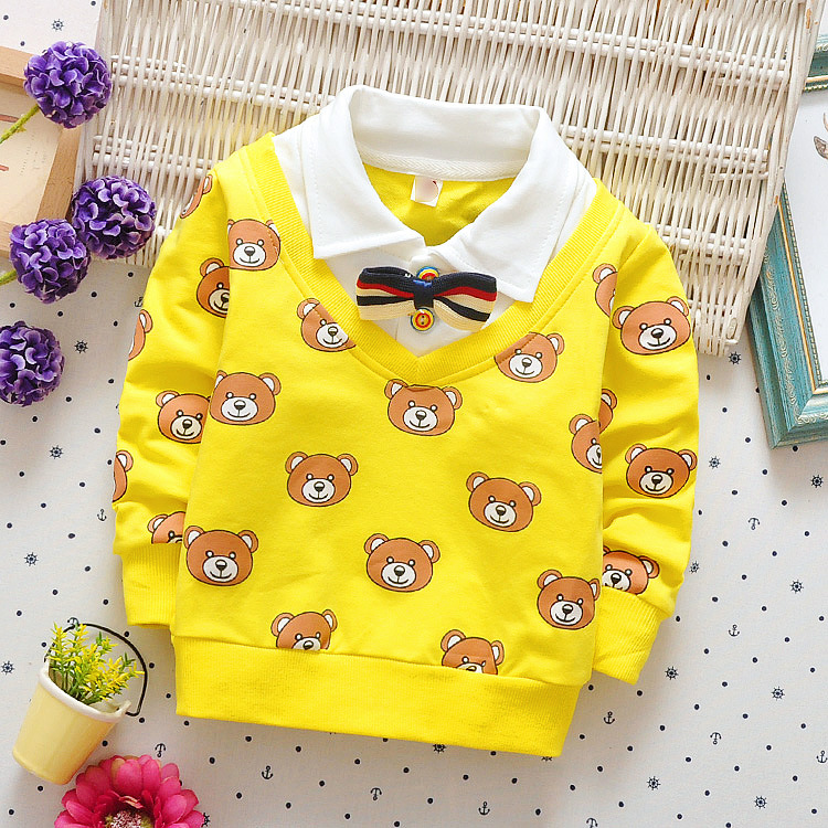 High-Quality-Kids-Boys-Polo-Shirt-Baby-Boy-Clothes-Spring-Long-Sleeve-Cotton-Striped-Detachable-Collar-Tshirt-Toddler-6-24month-3