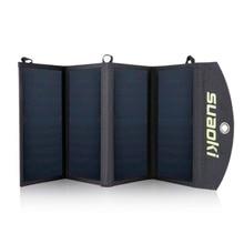 Suaoki Portable 25W Folding Foldable Waterproof Solar Panel