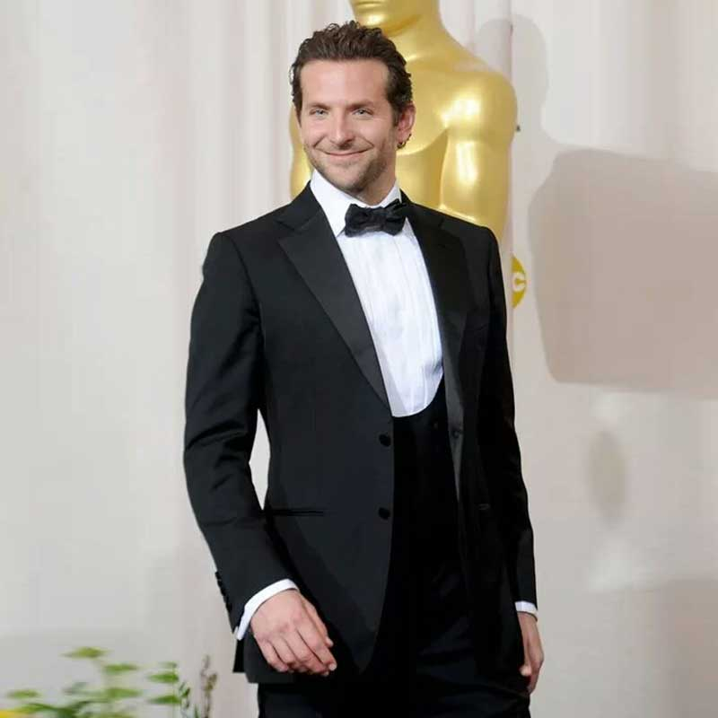 Groom Tuxedos Black Men Suits For Wedding Suits Man Blazers Jacket 3Piece Latest Coat Pants Designs Terno Masculino Ceremony