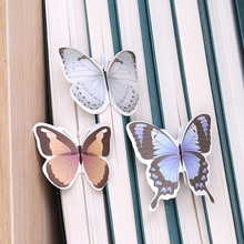4 pcs / Lot bookmark butterfly marque page Creativity marcadores Kawai marcapaginas Cute animal papelaria stationery bookmarks