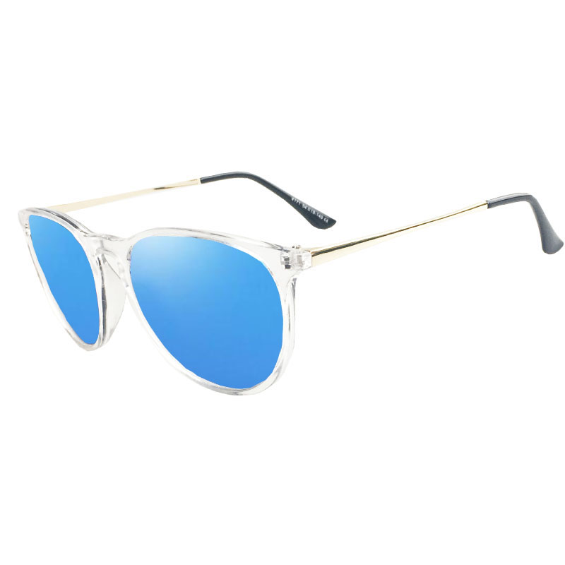 47d2a50b29 Dokly mujeres gafas De sol De marco De Metal revestimiento reflectante espejo  UV400 lente, diseñador De marca, gafas De sol, gafas De UV400 en Gafas de  sol ...