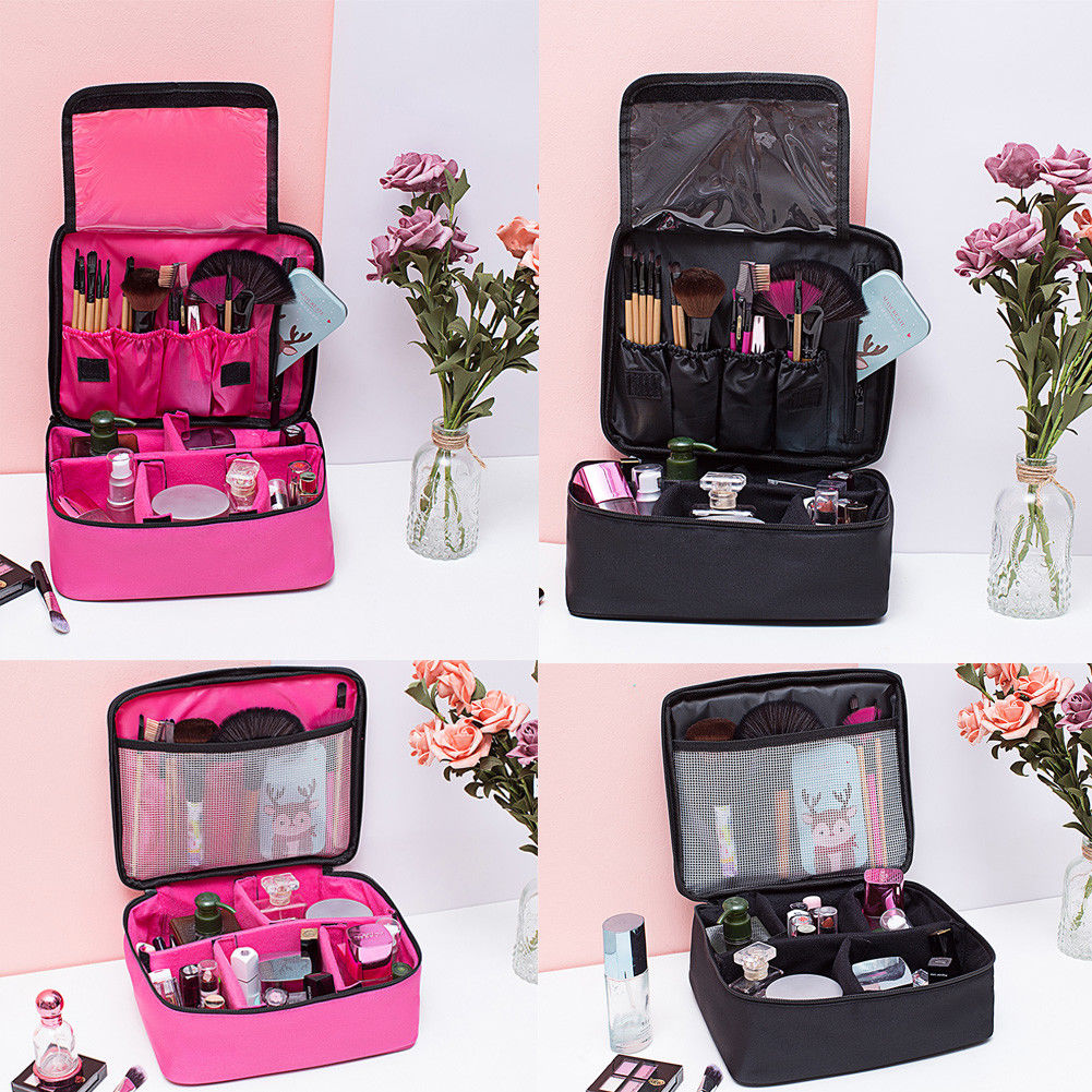 7dbd65c6b14a8c 2018 Newest Arrived Travel Cosmetic Storage Make Up Bag Folding Hanging Toiletry  Wash Organizer Pouch