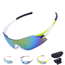 6 Colors Colorful UV400 Lens Rimless Cycling Glasses Women Men Outdoor Sports MTB Bike Bicycle Windproof