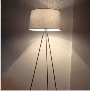 nordic ikea woonkamer stof staande lamp moderne minimalistische slaapkamer studie creatieve persoonlijkheid statief vloerlamp