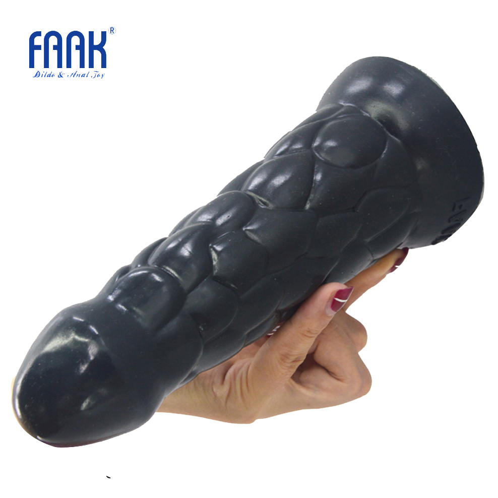 FAAK Big silicone anal plug christmas hat shape butt plug with suction cup anal dildo sex